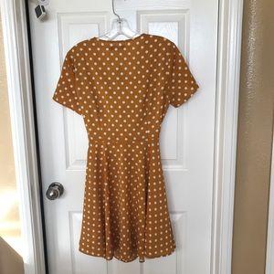 Nasty Gal Dresses - Nasty Gal Polka Dot Dress V-neckline NWT Size 2